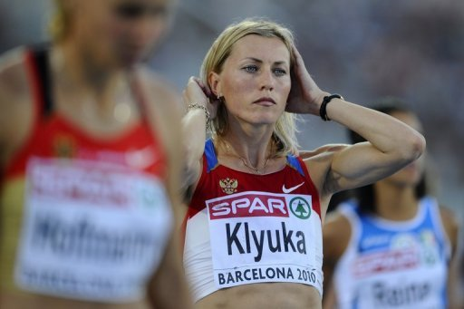 Svetlana Klyuka and two other Russian runners had &quot;abnormal indexes in their biometric passports&quot;