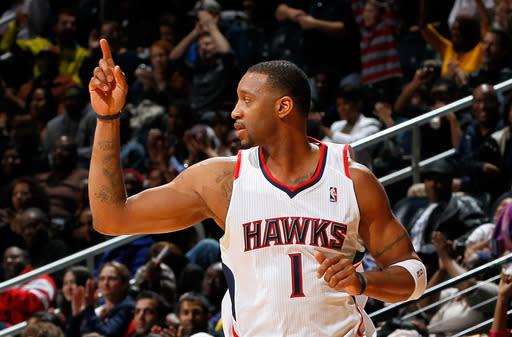 Josh Smith scores 28, Hawks beat Pacers 97-87
