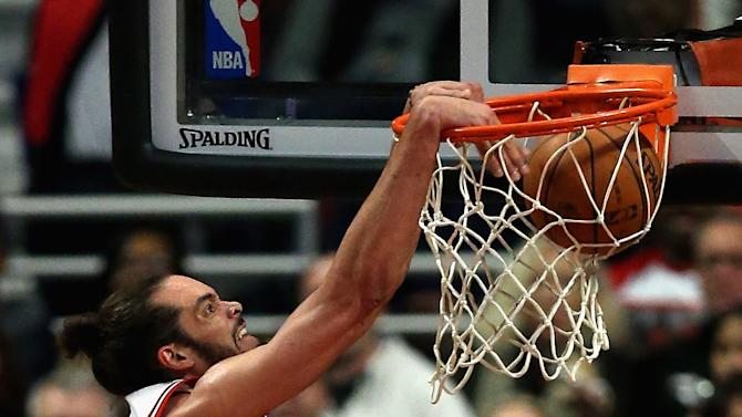 Noah leads Bulls to 94-87 win over Kings