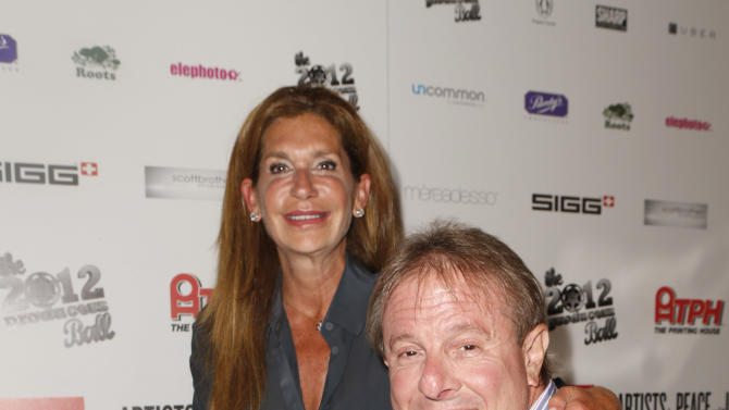 Judy Bronfman and Paul Bronfman attend the Producers Ball 2012 at the Shangri-La Toronto on Wednesday Sept. 5, 2012, in Toronto, Canada. (Photo by Todd Williamson/Invision for the Producers Ball/AP Images)