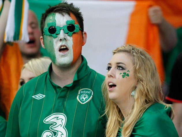 Ireland fans amazed by their own generosity (Getty)