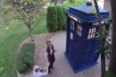 I think it's safe to say she said yes, and now has the key to the TARDIS.
