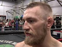 Conor McGregor Suffered Sprained Knee in UFC Fight Night 26 Bout with Max Holloway