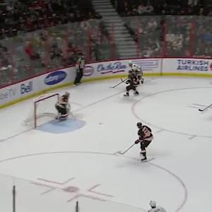 Craig Anderson Save on Brent Seabrook (18:48/1st)