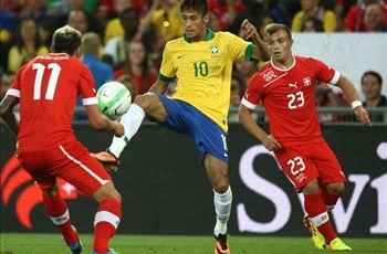 Neymar laments lack of Brazil fitness
