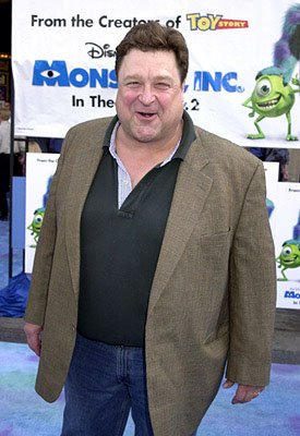Premiere: John Goodman at the Hollywood premiere of Monsters, Inc. - 10/28/2001