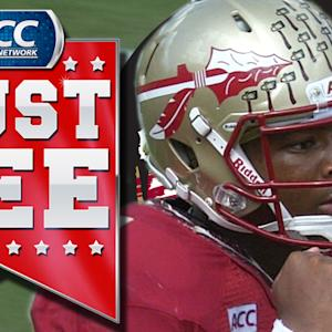 FSU's Jameis Winston Houdini Act To Throw Touchdown | ACC Must See Moment of the Year Candidate
