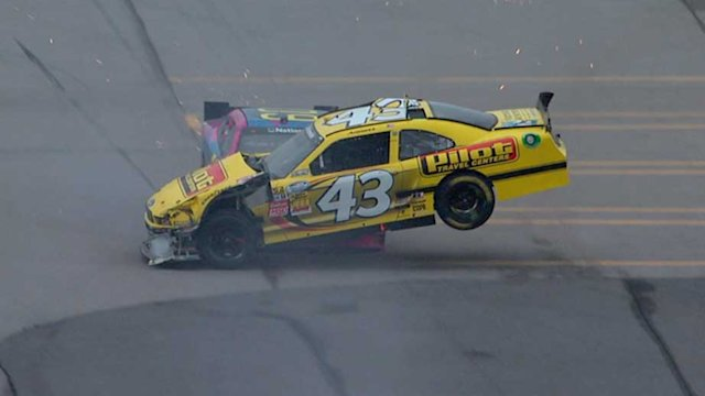 Pastrana and Sorenson tangle at Talladega