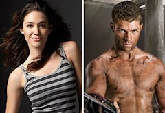 Emmy Rossum, Liam McIntyre | Photo Credits: Showtime, Michael Muller/STARZ