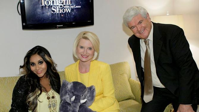 Newt Gingrich Meets Snooki - And Yes, There Are Photos