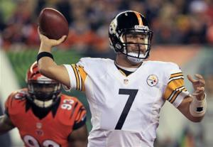 Depleted Steelers beat Bengals 24-17