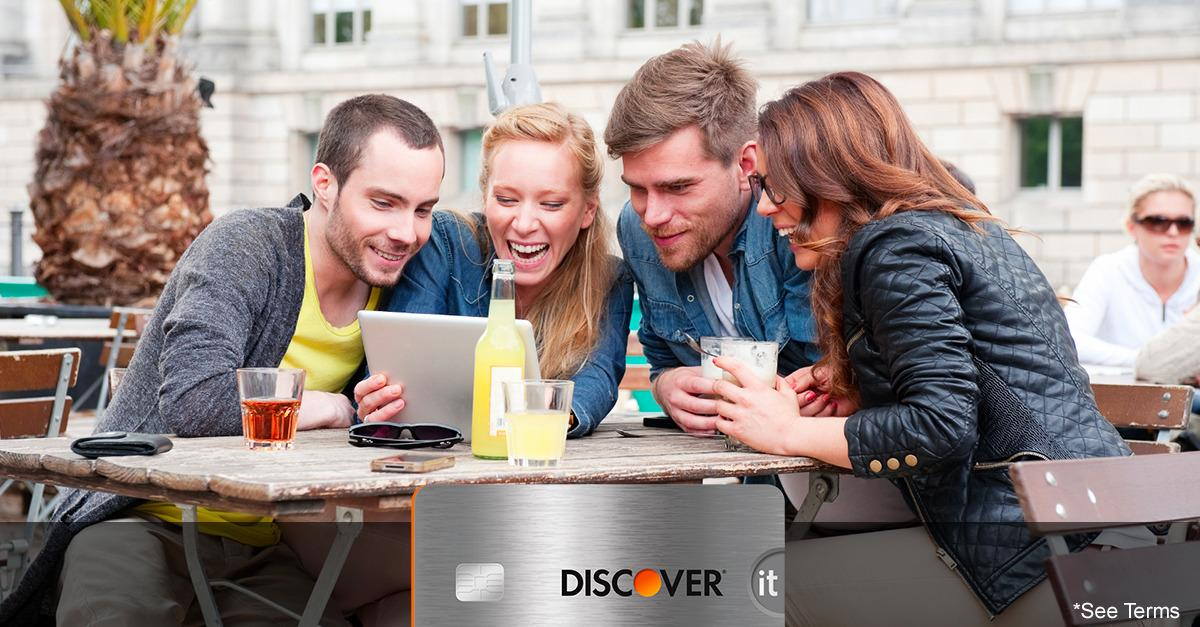 Now Discover It® Doubles Your First Year Cash Back