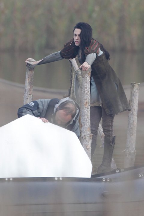Spotted on set Snow White and the Huntsman 2011