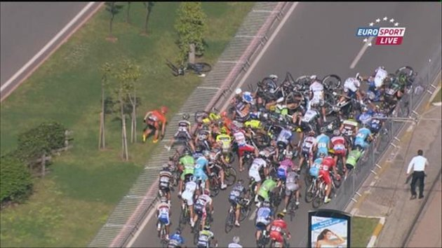 Tour of Turkey : Last Km and accident