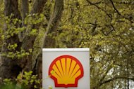 A Shell petrol station logo is pictured in London. China on Monday stole the number-two spot on the Fortune 500 list of the biggest global companies from its Asian rival, Japan. Anglo-Dutch energy giant Royal Dutch Shell retook the top spot, knocking off US retail titan Wal-Mart from a two-year reign