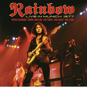 "This CD cover image released by Eagle Rock Entertainment shows ""Rainbow Live in Munich 1977,"" by Ronnie James Dio. (AP Photo/Eagle Rock Entertainment)"