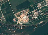 "This August 6 satellite image provide by GeoEye on August 22 shows the Yongbyon Nuclear Scientific Research Centre in North Korea. North Korea's nuclear programme is a matter of ""serious concern,"" the UN atomic agency IAEA said in a report released Thursday, referring in particular to two sites Pyongyang has stopped it from visiting"