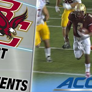 Boston College's Tyler Murphy Seals Upset With 66 Yard Touchdown| ACC Must See Moment