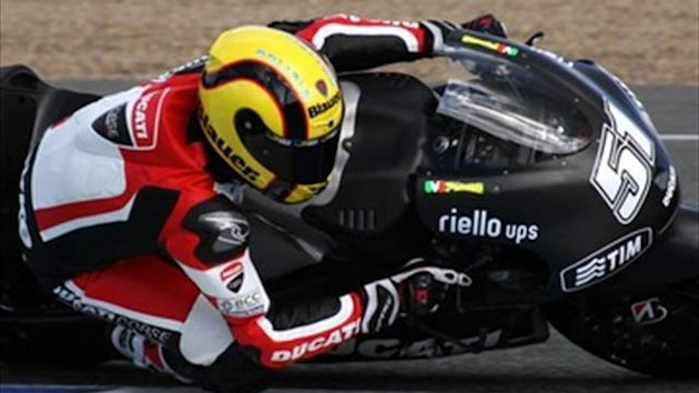 Pirro and Iannone completed the test with Ducati at Jerez