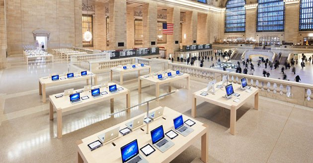 Apple being offered free rent just to open up stores