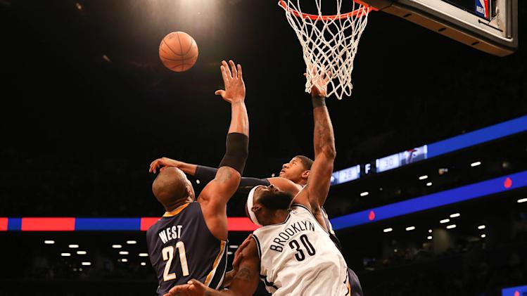 NBA: Indiana Pacers at Brooklyn Nets
