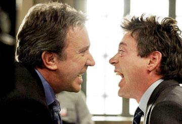 Tim Allen and Robert Downey Jr. in Walt Disney Pictures' The Shaggy Dog