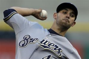 Brewers snap skid, drop sloppy Pirates 5-1