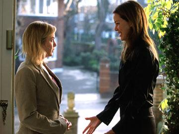 Renee Zellweger and Jacinda Barrett in Universal Pictures' Bridget Jones: The Edge of Reason