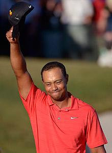 Tiger Woods proved he can still be his old self – and isn't that what we want?