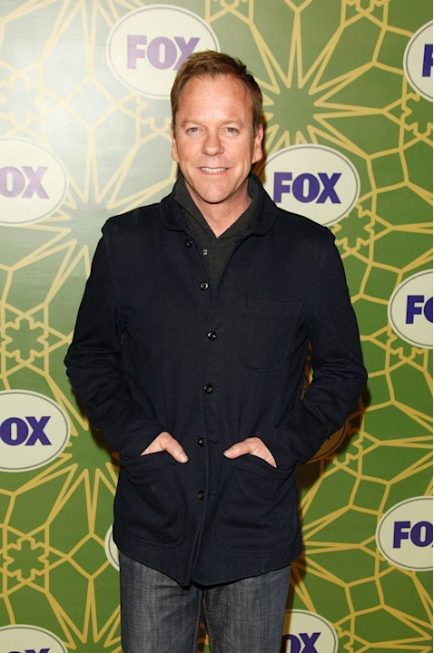 "Kiefer Sutherland (""Touch"") attends the 2012 Fox Winter TCA All-Star Party at Castle Green on January 8, 2012 in Pasadena, California."