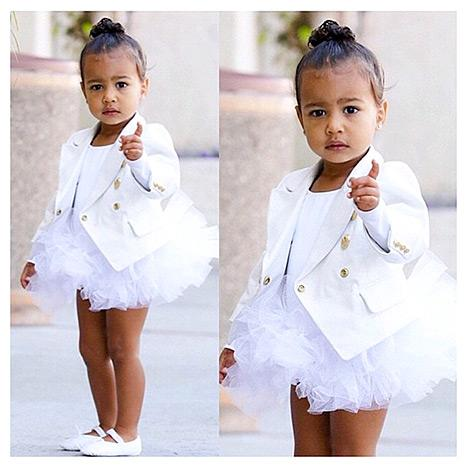 North West's Ballet Style Includes a Custom Designer Blazer: See the Luxe Photo!