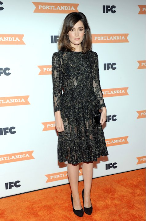 Actress Rose Byrne attends the season 3 premiere event of IFC's Portlandia, Monday, Dec. 10, 2012, at the American Museum of Natural History in New York.   The new season premieres on IFC on Jan. 4 at