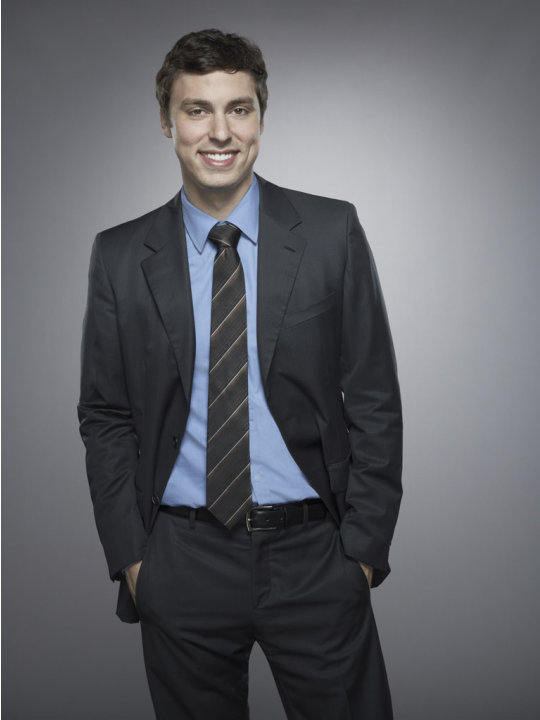 John Francis Daley stars as Dr. Lance Sweets in &quot;Bones.&quot; 