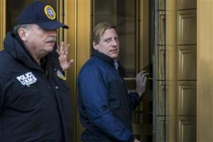 Dana Giacchetto arrives at the Manhattan Federal Courthouse in New York