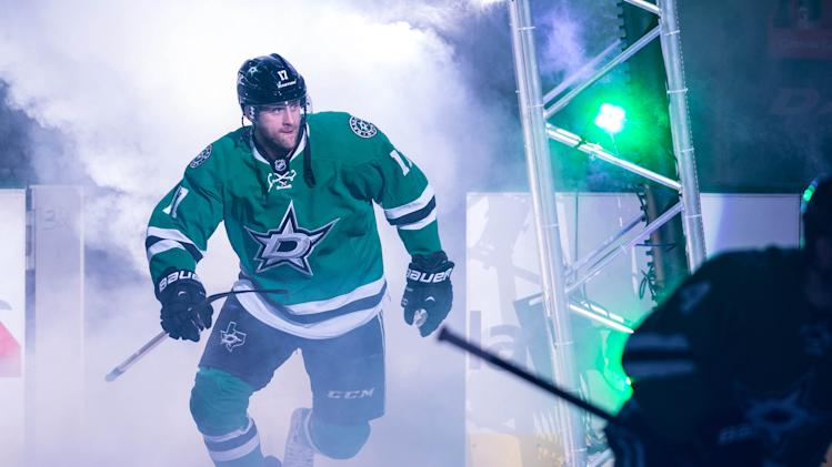 Stars forward Peverley to miss remainder of season