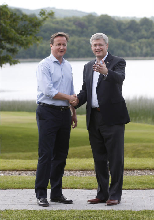 Britain Northern Ireland G-8 Summit