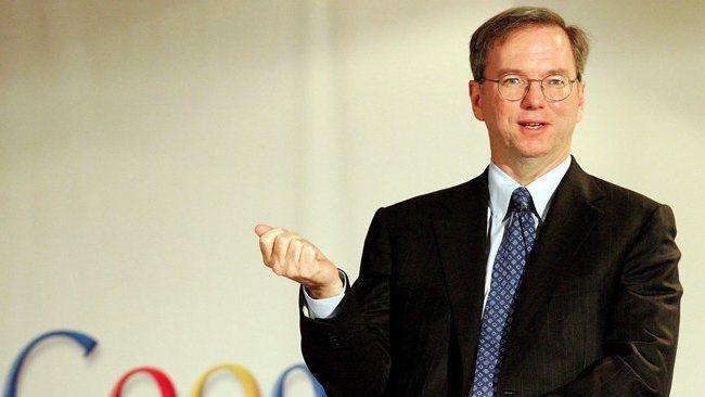 Google's Schmidt says it's 'curious' that Apple is only suing Android OEMs instead of Google