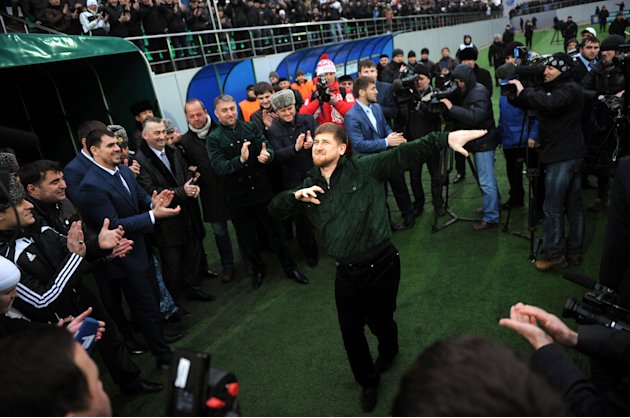 Regional Chechnyan leader Ramzan Kadyrov