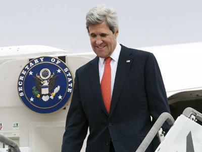 Raw: Kerry Arrives in SKorea Amid Missile Fears