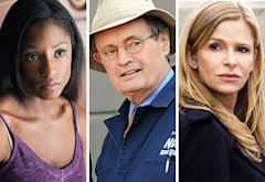 Rutina Wesley, David McCallum, Kyra Sedgwick | Photo Credits: John P. Johnson/HBO, Michael Yarish/CBS, Karen Neal/TNT