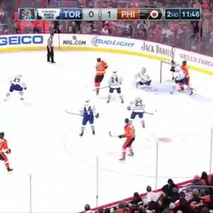 James Reimer Save on Nick Schultz (08:15/2nd)
