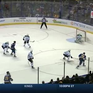 Kari Lehtonen Save on T.J. Oshie (06:35/1st)