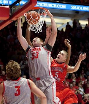 Alex Kirk leads No. 25 New Mexico over Fresno St