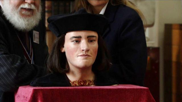 Life-like bust of King Richard III unveiled