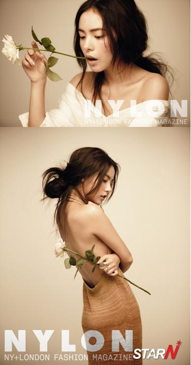 Min Hyo Rin shows the most natural look in a new pictorial