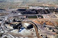 File photo of a copper and uranium mine in South Australia. Australia has signed a nuclear supply treaty with the United Arab Emirates in a deal Foreign Minister Bob Carr said would see the Gulf state become Canberra&#39;s first Middle Eastern uranium customer