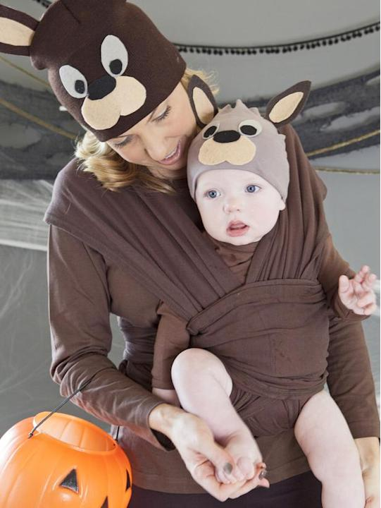 Mommy-and-Me Costume: Kangaroos