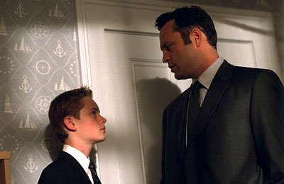 Matthew O'Leary and Vince Vaughn in Paramount's Domestic Disturbance