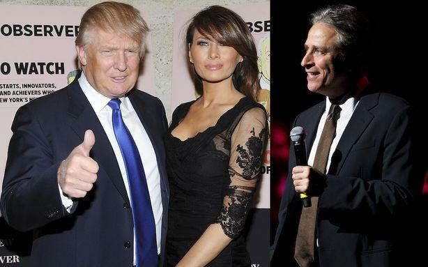 Donald Trump Outs Jon Stewart as a Jew