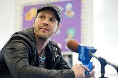 Gavin Degraw attends the Grammy Foundation Labels for Education Star-Powered Music Day at St. Edmund's Parish School in Oak Park, Illinois on April 5, 2011  -- Getty Premium